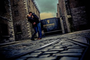 Paar in Irland, fotografiert von Axel Breuer