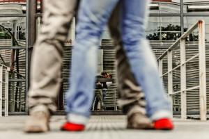 Paarfotografie auf Zeche Zollverein
