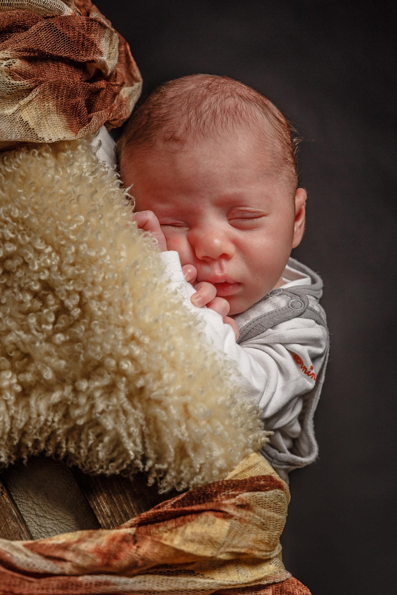 Babyfotografie in Rees